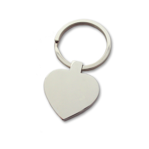Unique Photo Engraved Heart Keyring - Click Image to Close
