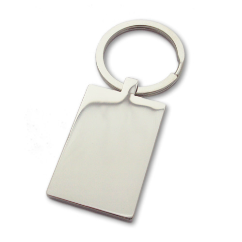 Unique Photo Engraved Rectangle Keyring