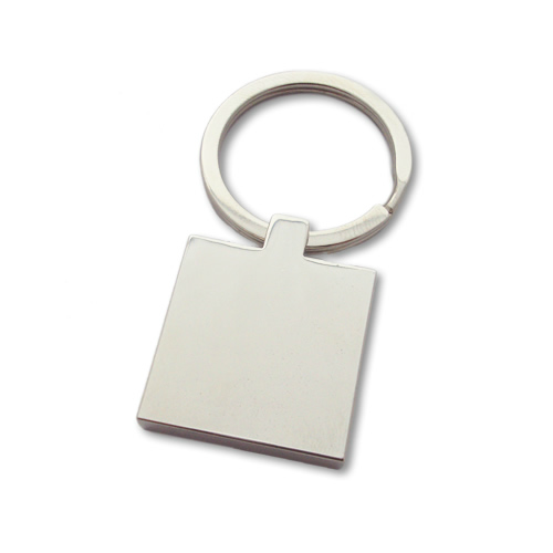 Unique Photo Engraved Square Keyring