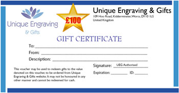 Gift Certificate £ 100.00